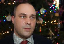 Поздравление председателя МПРОТ Ю.В. Дашкова с Новым 2017 годом.